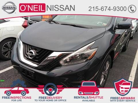 2018 Nissan Murano S for sale at O'NEIL NISSAN in Warminster PA