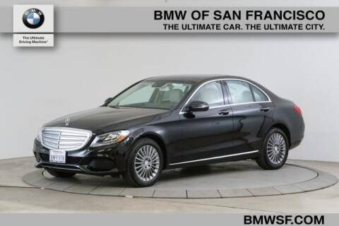2016 Mercedes-Benz C-Class C 300 Luxury 4MATIC for sale at BMW of San Francisco in San Francisco CA