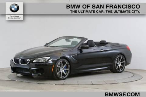 2017 BMW M6 for sale at BMW of San Francisco in San Francisco CA