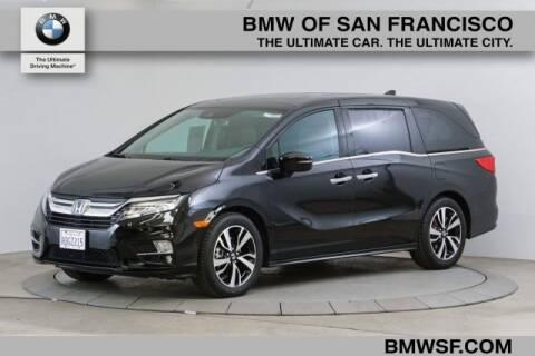 2018 Honda Odyssey Elite for sale at BMW of San Francisco in San Francisco CA