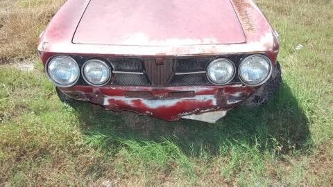 1971 Alfa Romeo GTV6 for sale at South Texas Antique Rides LLC in Corpus Christi TX