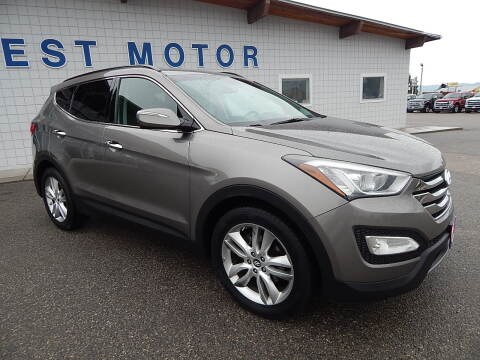 2013 Hyundai Santa Fe Sport for sale at West Motor Company - West Motor Ford in Preston ID