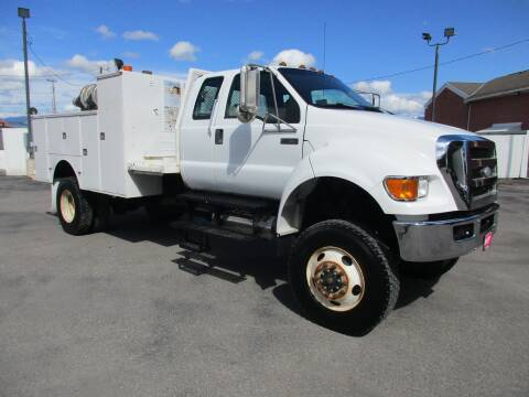 2008 Ford F-750 Super Duty for sale at West Motor Company in Preston ID