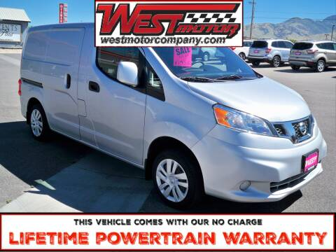 2015 Nissan NV200 for sale at West Motor Company in Preston ID