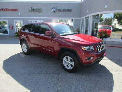 2015 Jeep Grand Cherokee for sale at West Motor Company in Preston ID
