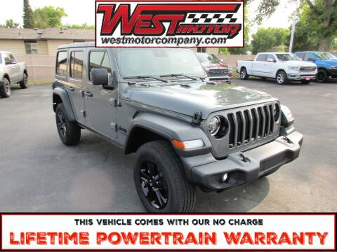 2020 Jeep Wrangler Unlimited for sale at West Motor Company in Preston ID