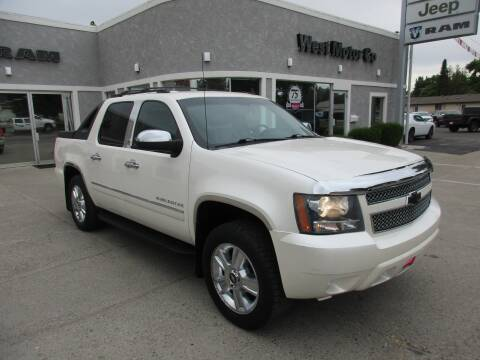 2010 Chevrolet Avalanche for sale at West Motor Company in Preston ID