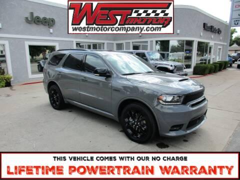2020 Dodge Durango for sale at West Motor Company in Preston ID