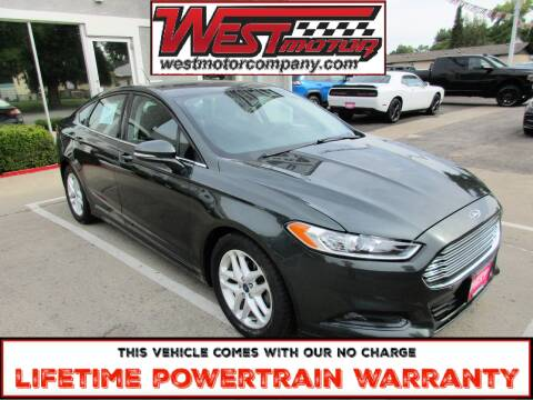 2015 Ford Fusion for sale at West Motor Company in Preston ID