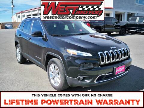 2016 Jeep Cherokee for sale at West Motor Company in Preston ID