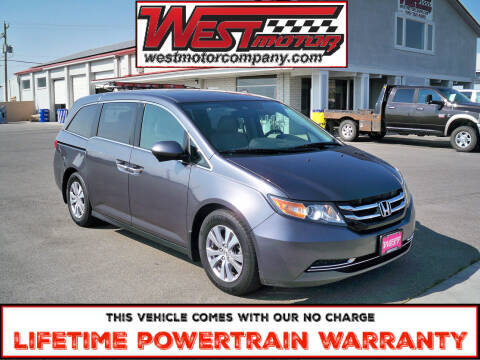 2016 Honda Odyssey for sale at West Motor Company in Preston ID