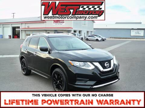 2017 Nissan Rogue for sale at West Motor Company in Preston ID