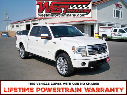 2014 Ford F-150 for sale at West Motor Company in Preston ID