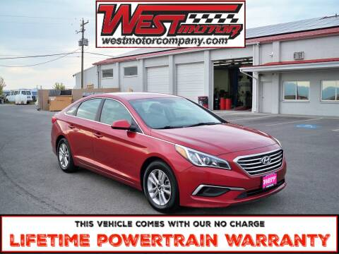 2016 Hyundai Sonata for sale at West Motor Company in Preston ID