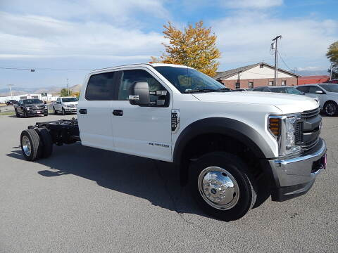 2019 Ford F-550 Super Duty for sale at West Motor Company - West Motor Ford in Preston ID
