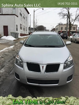 2009 Pontiac Vibe AWD for sale at Sphinx Auto Sales LLC in Milwaukee WI