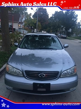 2004 Infiniti I35 for sale at Sphinx Auto Sales LLC in Milwaukee WI