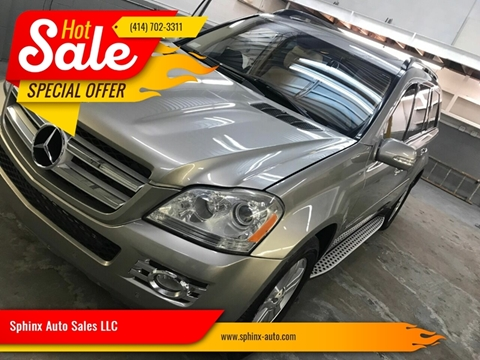 2008 Mercedes-Benz GL-Class GL 450 4MATIC for sale at Sphinx Auto Sales LLC in Milwaukee WI