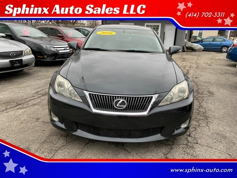 2010 Lexus IS 250 for sale at Sphinx Auto Sales LLC in Milwaukee WI