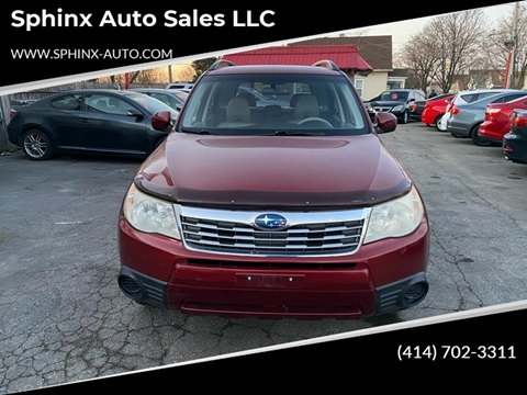 2010 Subaru Forester 2.5X Premium for sale at Sphinx Auto Sales LLC in Milwaukee WI