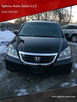 2010 Honda Odyssey EX-L w/DVD w/Navi for sale at Sphinx Auto Sales LLC in Milwaukee WI