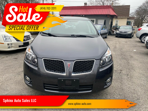 2009 Pontiac Vibe 2.4L for sale at Sphinx Auto Sales LLC in Milwaukee WI