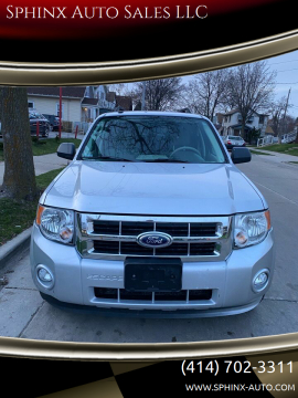 2012 Ford Escape XLT for sale at Sphinx Auto Sales LLC in Milwaukee WI
