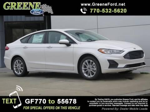 2020 Ford Fusion Hybrid for sale at NMI in Atlanta GA