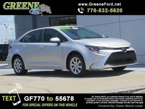 2020 Toyota Corolla for sale at NMI in Atlanta GA