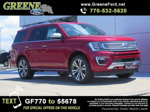 2020 Ford Expedition for sale at NMI in Atlanta GA