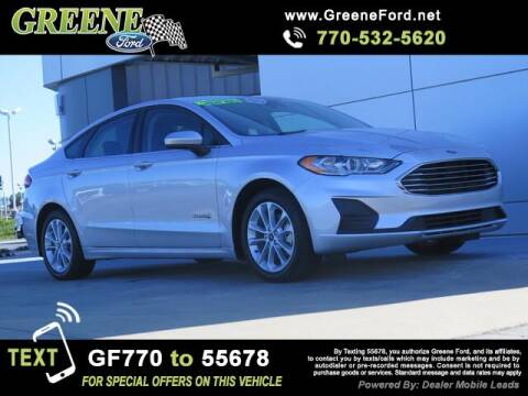 2019 Ford Fusion Hybrid for sale at NMI in Atlanta GA