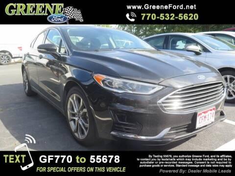 2019 Ford Fusion for sale at NMI in Atlanta GA