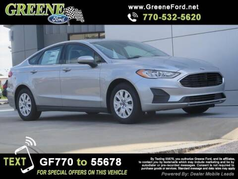 2020 Ford Fusion for sale at NMI in Atlanta GA