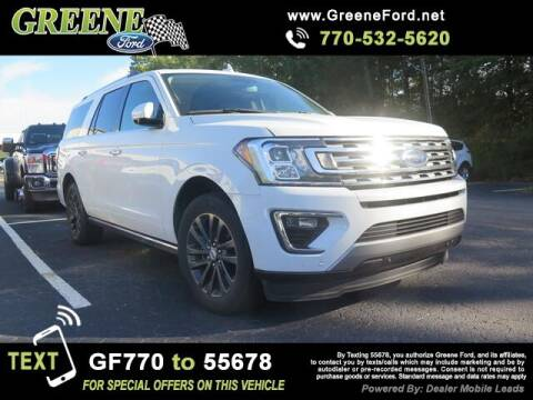 2019 Ford Expedition MAX for sale at NMI in Atlanta GA