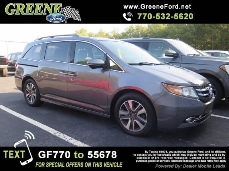 2014 Honda Odyssey for sale at NMI in Atlanta GA