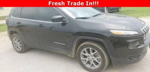 2018 Jeep Cherokee Latitude Plus for sale at STAR DODGE in Abilene TX