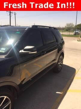 2015 Ford Explorer XLT for sale at STAR DODGE in Abilene TX