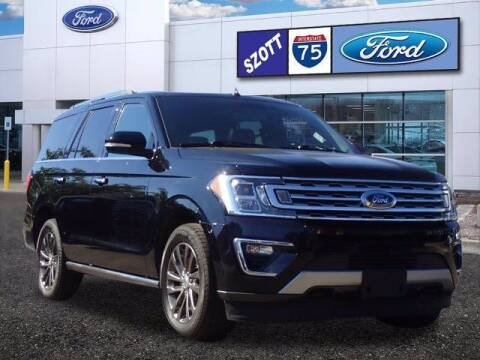 2019 Ford Expedition for sale at Szott Ford in Holly MI