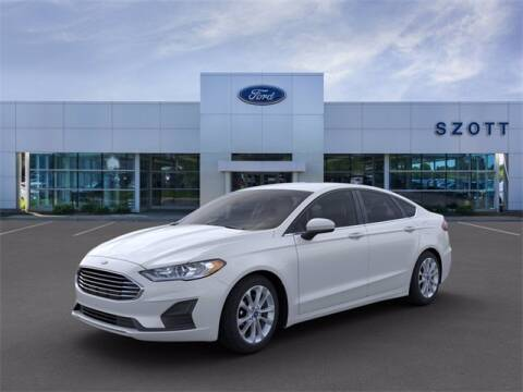 2020 Ford Fusion for sale at Szott Ford in Holly MI