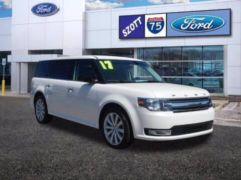 2017 Ford Flex for sale at Szott Ford in Holly MI