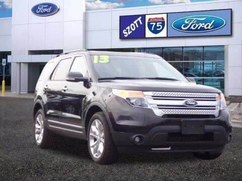 2013 Ford Explorer for sale at Szott Ford in Holly MI