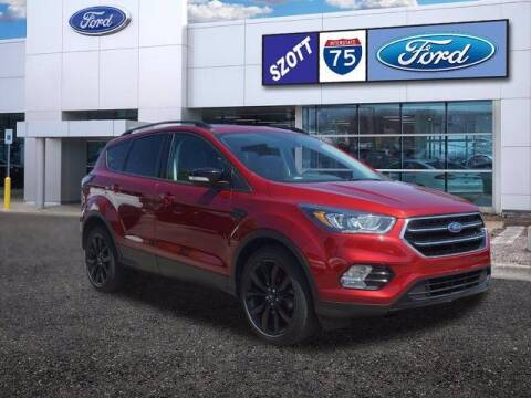 2017 Ford Escape for sale at Szott Ford in Holly MI