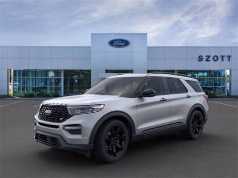 2020 Ford Explorer for sale at Szott Ford in Holly MI