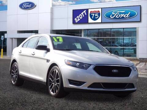 2017 Ford Taurus for sale at Szott Ford in Holly MI
