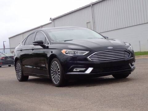 2018 Ford Fusion Hybrid for sale at Szott Ford in Holly MI
