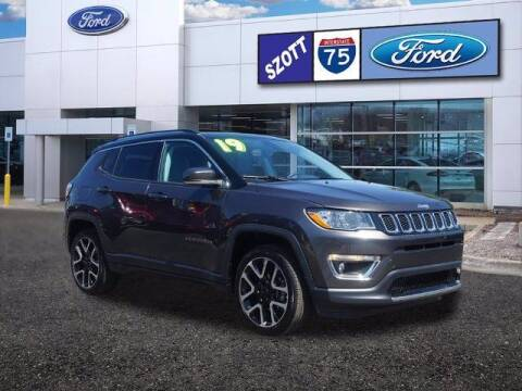 2019 Jeep Compass for sale at Szott Ford in Holly MI