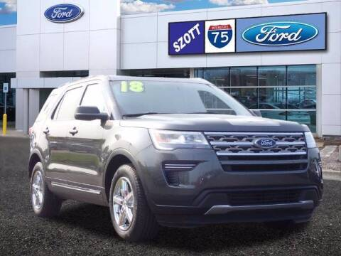 2018 Ford Explorer for sale at Szott Ford in Holly MI