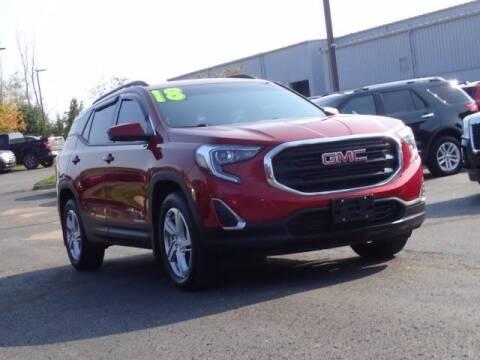 2018 GMC Terrain for sale at Szott Ford in Holly MI