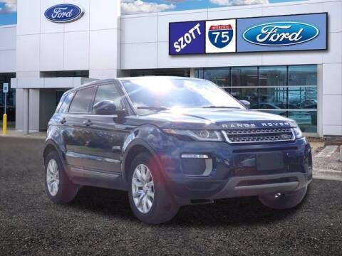 2017 Land Rover Range Rover Evoque for sale at Szott Ford in Holly MI