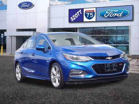 2016 Chevrolet Cruze for sale at Szott Ford in Holly MI